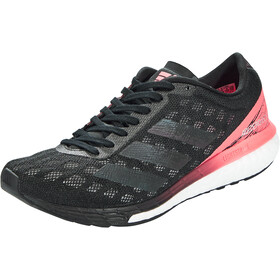 adidas Adizero Boston 9 Shoes Women core black/core black/signal pink